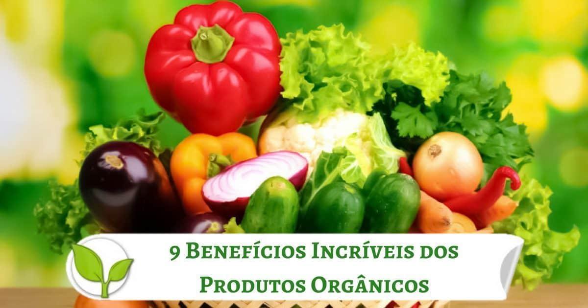 9Benefícios Incríveis dos Produtos Orgânicos