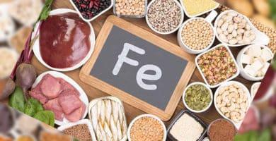 Alimentos que contém ferro