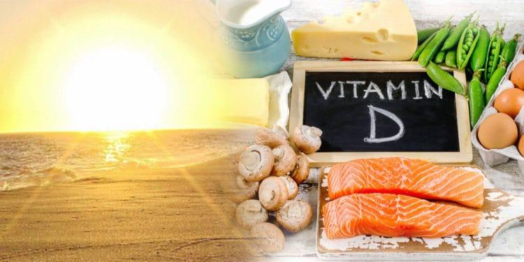 quais os Alimentos que contém vitamina D