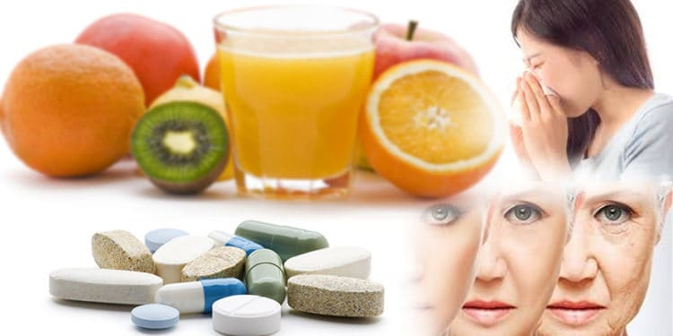 Principais alimentos com vitamina C